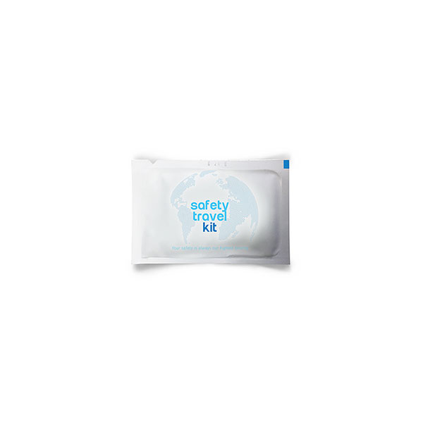 Safety Travel Kit Antibacterial Wipes